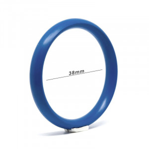 Aluminium Metal Ring - Cobalt Blue