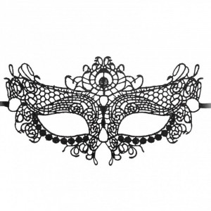 Queen Black Lace Mask