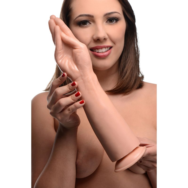 The Fister Hand and Forearm Dildo - Flesh