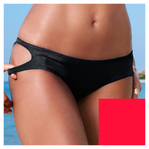 VS Cross Over Bikini Bottom Red Ignited